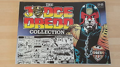 'the Judge Dredd Collection' #1 Daily Star Strip John Wagner Ipc Magazines 1985