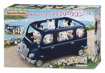 Epoch Calico Critters Sylvanian Families FAMILY WAGON