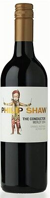Philip Shaw `The Conductor` Merlot 2014 (12 x 750mL), Orange, NSW.