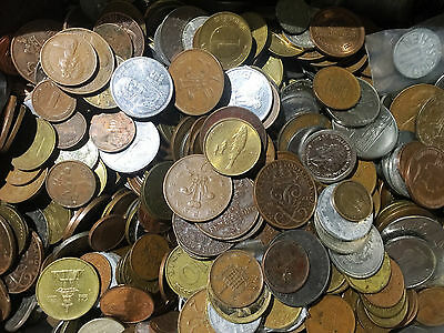 Free Shipping WorldWide Set lot Of 30 Pcs Different Type Foreign World Coins Lot