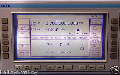 Marconi 2031  RF Signal Generator, 10 kHz - 2.7 GHz Tested With Power Cord