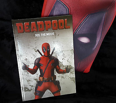 Marvel Comics: DEADPOOL. iPad / Tablet case and Lined Paper Notebook. RARE!