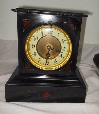french timepiece mantel clock c1900s