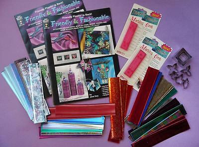 Various Friendly Plastic Items + PLASTIC STRIPS - Discontinued -Jewellery/Crafts