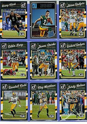 2016 Donruss 12 Card Team Set Green Bay Packers Brett Favre Rodgers Lacy  Cobb 0f94a4d38