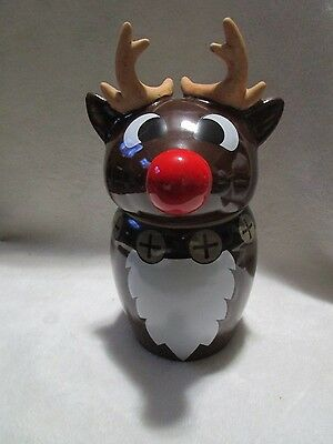 Utica Club Schultz & Dooley RUDOLPH REINDEER CHRISTMAS Beer Stein  Made in China