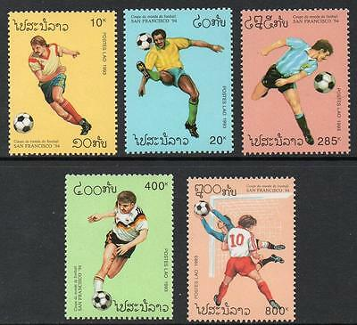 Laos MNH 1993 Football World Cup