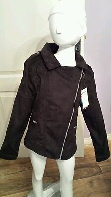 Kids Jacket Faux Suede by Tractor - Age 8 Years