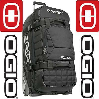 Ogio Rig 9800 Wheeled Mx Motocross Moto-X Enduro Mtb Travel Gear Kit Bag Black