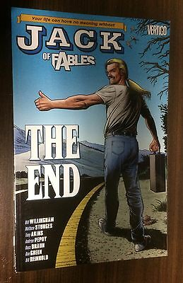 JACK OF FABLES Volume 9 TPB -- The End -- Bill Willingham