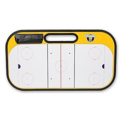 Howies Hockey 29 x 16 Coaches Board Dry Erase 2 Sided Includes Eraser Marker