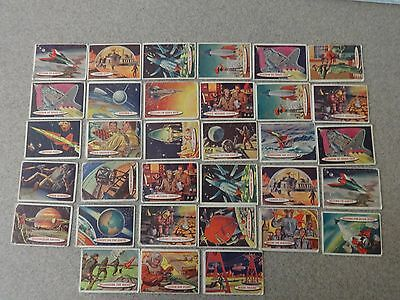 1957 Topps Space Cards Lot Of 37 Cards