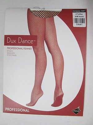 Professional Fishnet Tights CARAMEL TOFFEE or BLACK S M L XL Adult Dance Costume