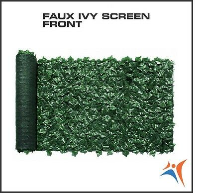 Ivy Leaf Artificial Privacy Fence Gate Screen Panels Wall COVER Decor 6' X 14'