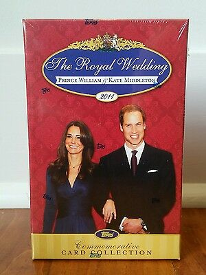 Royal Wedding Prince William Kate Middleton Commemorative Card Collection Topps