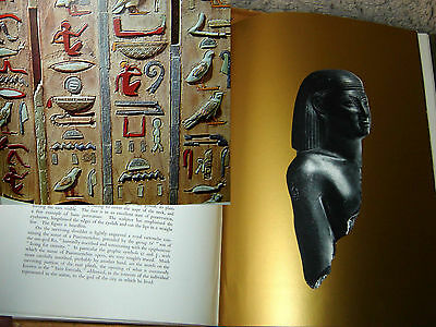 Egyptian art in egytian museum RARE ,EXTRA LARGE format book , out of print