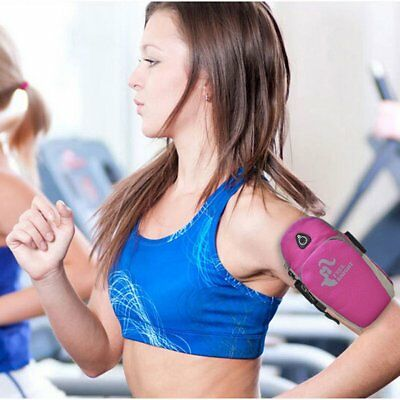 Sports Running Jogging Gym Armband Arm Band Holder Bag For Mobile Phones GA