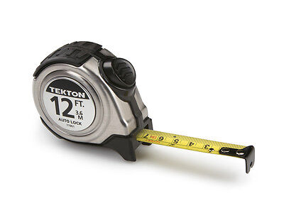 12 ft. x 5/8 in. Auto Lock Tape Measure with Stainless Steel Housing