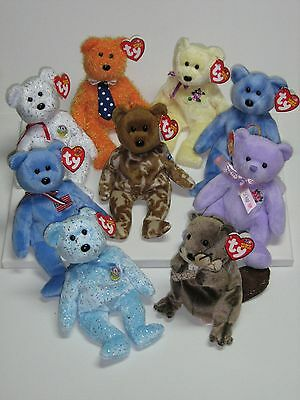 Ty Beanie Babies X 9 As New With Mint Tags