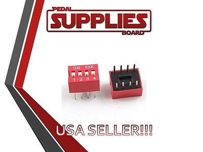 Qty 2 4 Position Dip Switch USA Seller