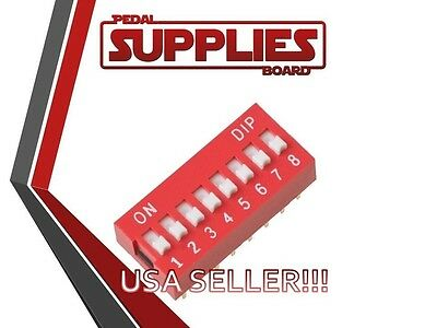 Qty 2 8 Position Dip Switch USA Seller