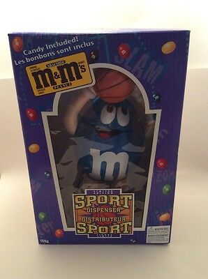 New In Box M&M Candy Dispenser Basketball Player Figure Sports Limited Edition