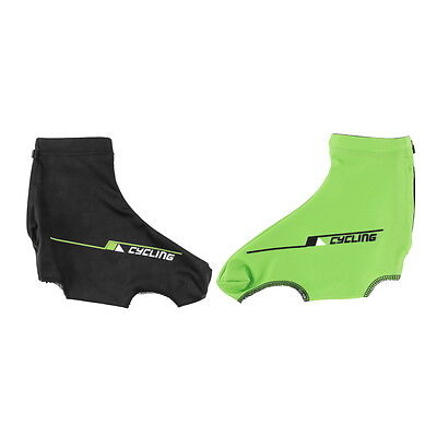 Bicycle Bike Windproof Shoe Covers Cycling Zippered Overshoes Sportwear G1
