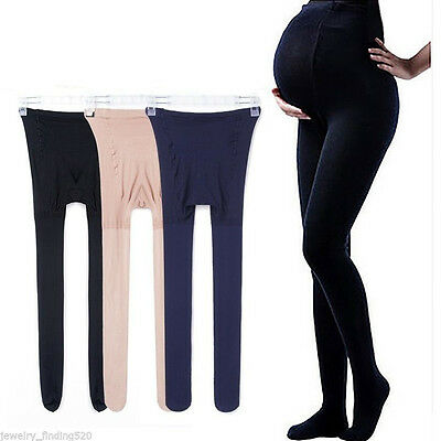 High Elastic Plus-size Women Pregnant Maternity Tights Pantyhose Stockings