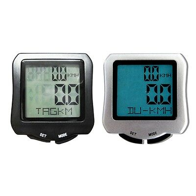 NEW Bike Bicycle Wired Cycle LCD Computer Odometer Speedometer Waterproof NEW GY
