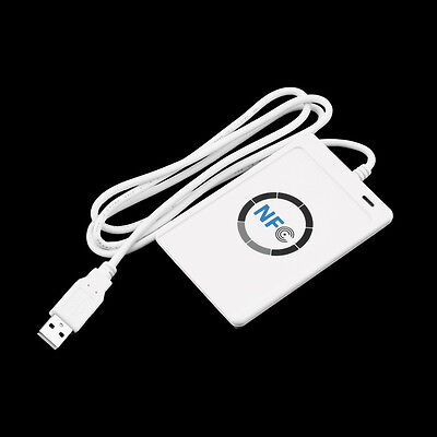 NFC ACR122U RFID Contactless Smart Reader & Writer/USB + 5X Mifare IC Card Goosd