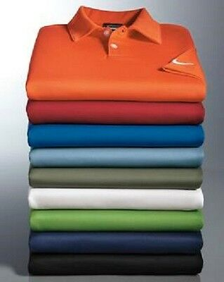 LOT OF 10 NWT NIKE GOLF - Dri-FIT Pebble Texture Polo