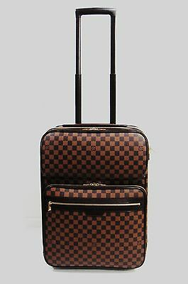 a424f97edbf $3650 LOUIS VUITTON Pegase 55 Business Damier Ebene Suitcase Carry On  Luggage