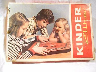 Kinder Zither in Original box