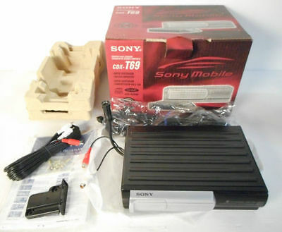 Sony Cdx-T69 Cd-Changer To 6Cd,standard Sony Bus Compatible,read Cd-R/rw,cd-Test