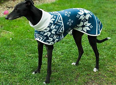 Beautiful fleece coats for Whippets and Greyhound made in UK!