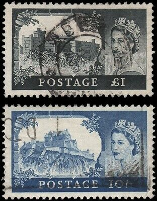 Great Britain #311-312 Used