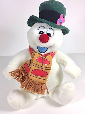 Frosty The Snowman Singing Plush 14""