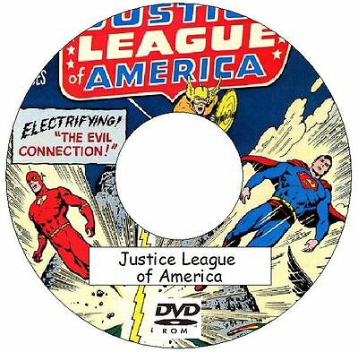 Justice League of America Comic Collection 261 Issues + 3 Annuals on 2 DVDs