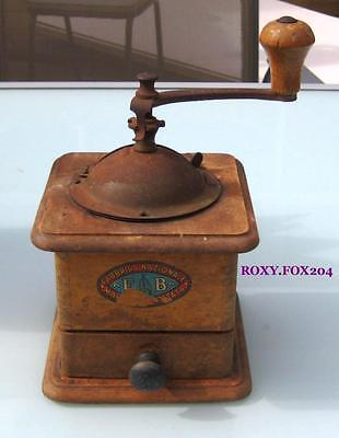 Vintage / Antique COFFEE GRINDER 'FB FABBRICA NAZIONALE' Made in Italy