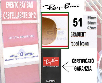 Ray Ban Replacement Lenses  3025 3026 3029 3030 3138 3407 3422 Col 51  ø62