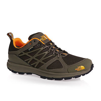 scarpe north face trekking Litewave GTX gore-tex marrone-arancio
