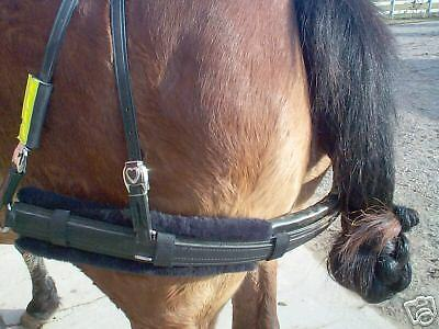 Breeching Pad In Horse Size,  Jet Black!!!