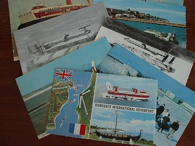 """Ramsgate """"pegwell Bay'"""" Hoverport # Eight Postcards"""