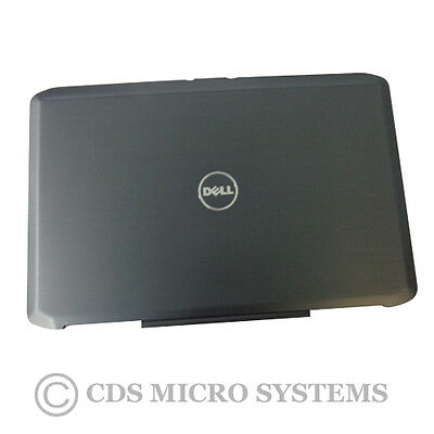 """New Dell Latitude E5530 Laptop Black Lcd Back Cover & Hinges 15.6"""" H7N3T"""