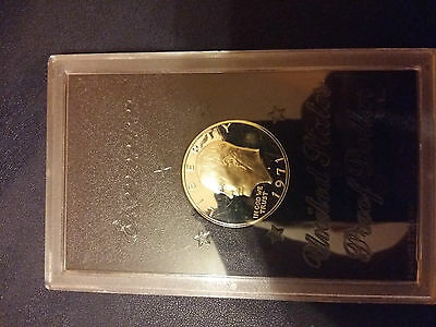Usa 1 Dollar Eisenhower 1971 S Proof Silver
