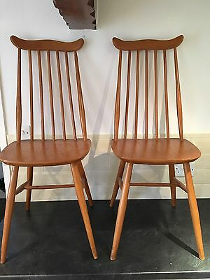 Pair of Dining Chairs - Possibly Ercol Goldsmith?