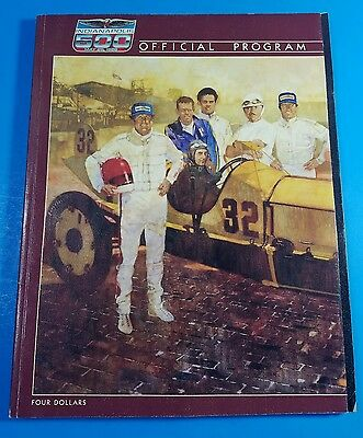 Vintage Indianapolis 500 Program Bobby Rahal Winner May 25, 1986