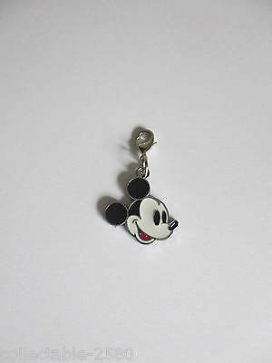 Mickey Mouse Enamel Pet Cat / Kitten / Dog Jewellery Collar / Lead Clip on Charm