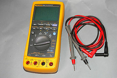 Fluke 789 DC 24mA Current Calibrator Loop Calibration Multimeter ProcessMeter
