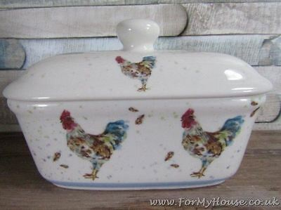 Country cockerel butter dish LP92413
